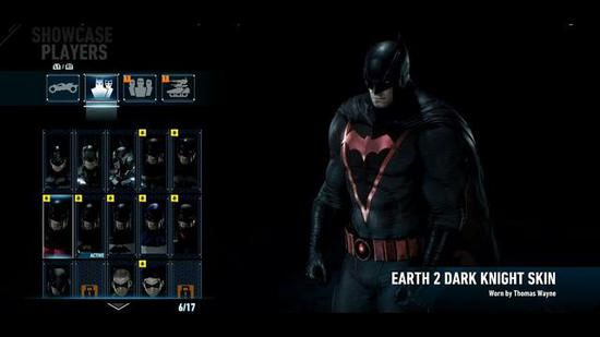 """Earth 2 Dark Knight""皮肤"